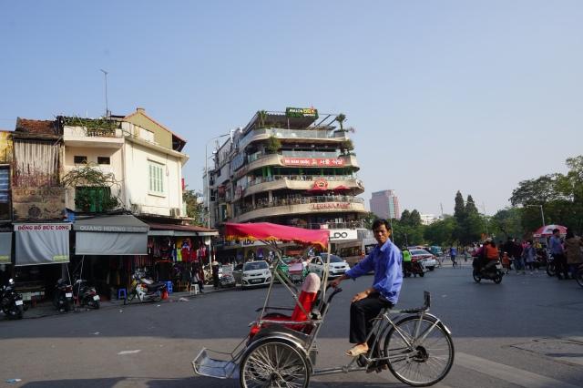 Becak di Hanoi