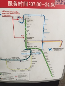 Peta Bus dari Bandara Don Mueang